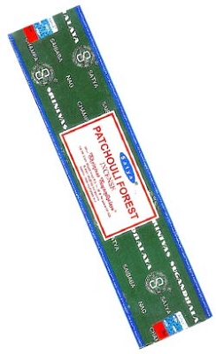 Satya Patchouli Forest Incense 40 Gram Packs - 12/Box