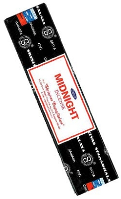 Satya Midnight Incense 40 Gram Packs - 12/Box