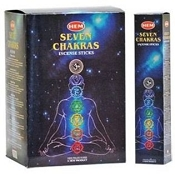 Hem Seven Chakras Incense Set - 35g 12/Boxes