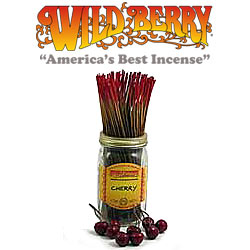 Cherry Incense Sticks by Wild Berry Incense