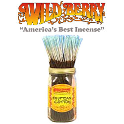 Egyptian Cotton™ Incense Sticks by Wild Berry Incense