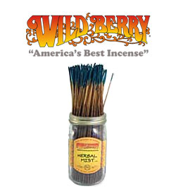 Herbal Mist Incense Sticks by Wild Berry Incense