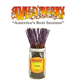 Isis Incense Sticks by Wild Berry Incense
