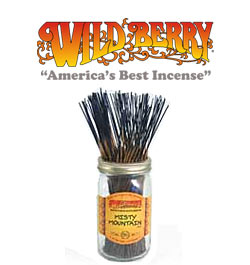 Misty Mountain Incense Sticks by Wild Berry Incense