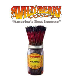 Mullberry Incense Sticks by Wild Berry Incense