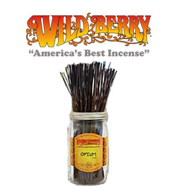 Opium (type) Incense Sticks by Wild Berry Incense