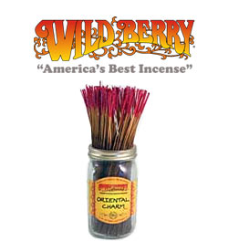 Oriental Charm Incense Sticks by Wild Berry Incense