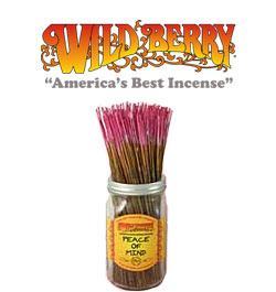 Peace of Mind Incense Sticks by Wild Berry Incense