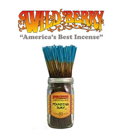 Pounding surf Incense Sticks by Wild Berry Incense
