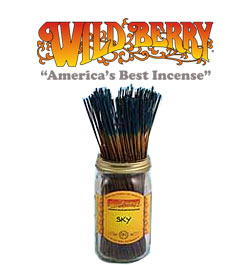 Sky Incense Sticks by Wild Berry Incense