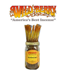 Sunshine Incense Sticks by Wild Berry Incense