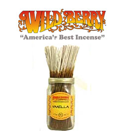 Vanilla Incense Sticks by Wild Berry Incense
