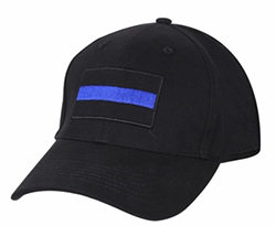 Thin Blue Line Flag Patch Snap Back