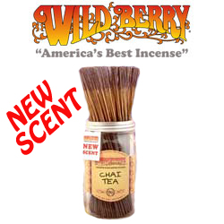 Chai Tea Incense Sticks by Wild Berry Incense