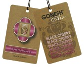Gonesh Hanging Air Freshener - Black Cherry