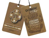 Gonesh Hanging Air Freshener - Coconut