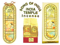 Song of India Temple Incense