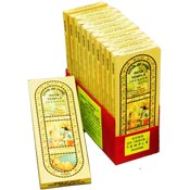 Song of India Temple Incense, 12 150-Stick Boxes