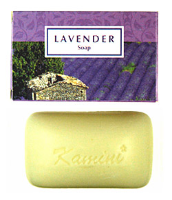Kamini Soap - Lavender Soap - 100g, 12/Box