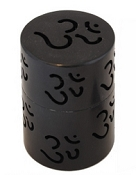 Charcoal Burner- Om Soapstone Lattice Charcoal Burner 3.5""
