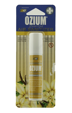 Ozium Air Sanitizer - Vanilla 0.8 oz. bottle
