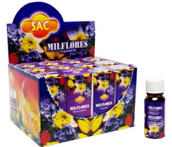 Sandesh (SAC) Aroma Oil 10ml - 1/3 Fl. Oz. (12/Box) - Milflores