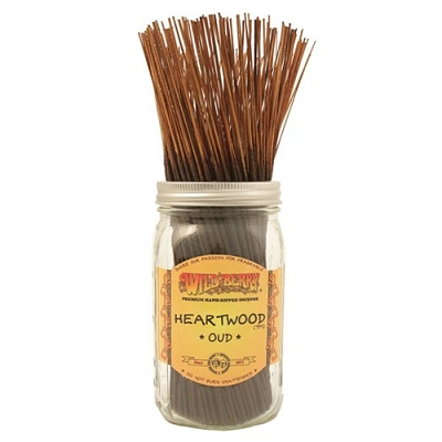 Heartwood Incense Sticks by Wild Berry Incense