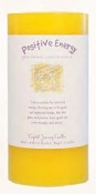 Crystal Journey Herbal Magic Pillar Candle 3X6 - Positive Energy