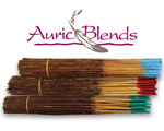 Auric Blends Orange Spice Incense - 100 Gram Bundle