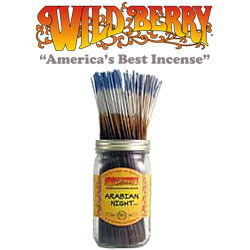 Arabian Night™ Incense Sticks by Wild Berry Incense