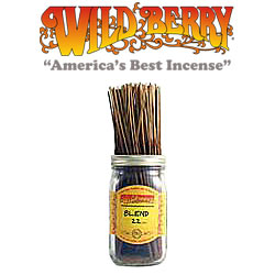 Blend 22™ Incense Sticks by Wild Berry Incense