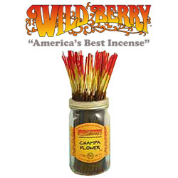 Champa Flower™ Incense Sticks by Wild Berry Incense