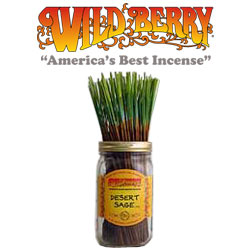 "Desert Sageâ""¢ Incense Sticks by Wild Berry Incense"