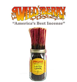 Latin Lover Incense Sticks by Wild Berry Incense