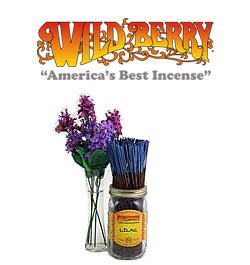 Lilac Incense Sticks by Wild Berry Incense