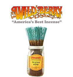 Ocean Wind Incense Sticks by Wild Berry Incense