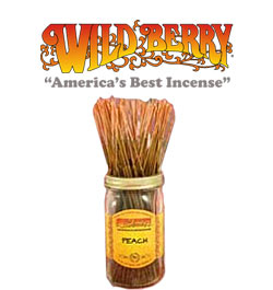 Peach Incense Sticks by Wild Berry Incense