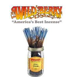 Yin Yang Incense Sticks by Wild Berry Incense