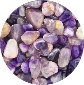 Amethyst Tumbled & Polished [Half Pound]