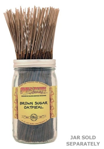 Brown Sugar Oatmeal Incense Sticks by Wild Berry Incense