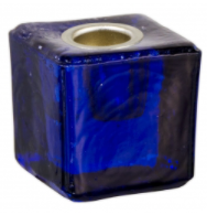 Mini Ritual Candle Holder - Cobalt