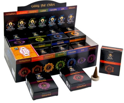 Goloka Chakra 7-In-One Combo Cones - 10 Cones Pack (24 Per Box)