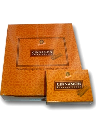 Kamini Cones - Cinnamon - 10 cones/box - Case of 12