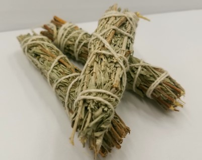 "Smudge Bundle Mini 3-4"" - Lavender Fields SKINNY (Sage, Cedar & Lavender) [3Pack]"