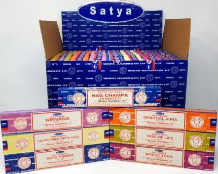 Satya Nag Champa Scents #2 15gram Display (84 packs)