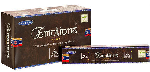 Satya Incense - Supreme Emotion - 15gr -12/Box