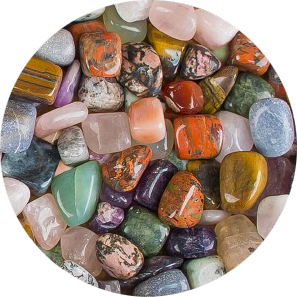 All Natural Gemstone Mix [Half Pound]