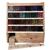 Auric Blends Display Case w/ 24 Bundles of Incense