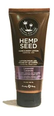 Earthly Body Hemp Seed Hand & Body Lotion - Lavender