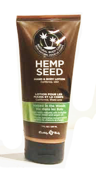 Earthly Body Hemp Seed Hand & Body Lotion - Nag Champa